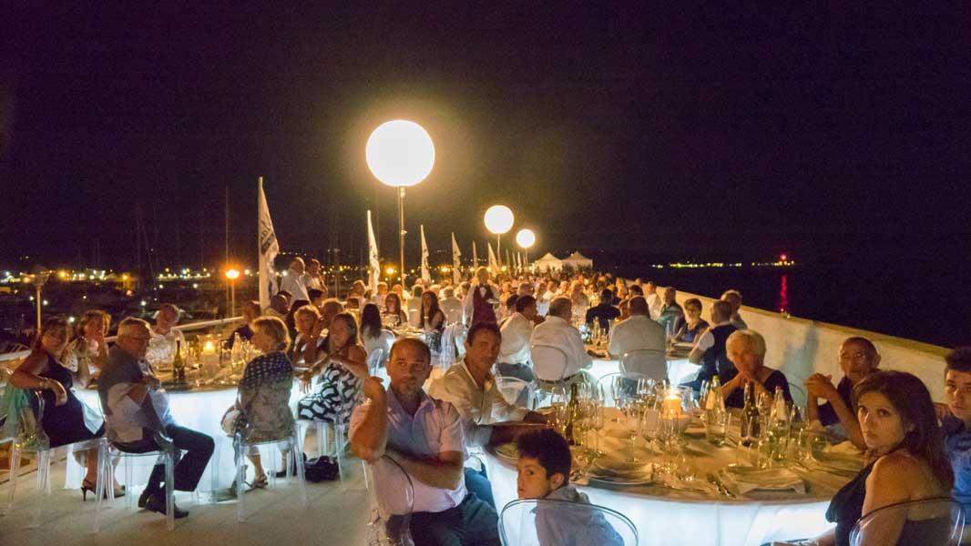 Cena sotto le stelle Marina dei Cesari