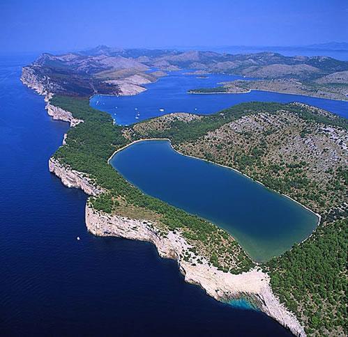 Dugi Otok lago salato