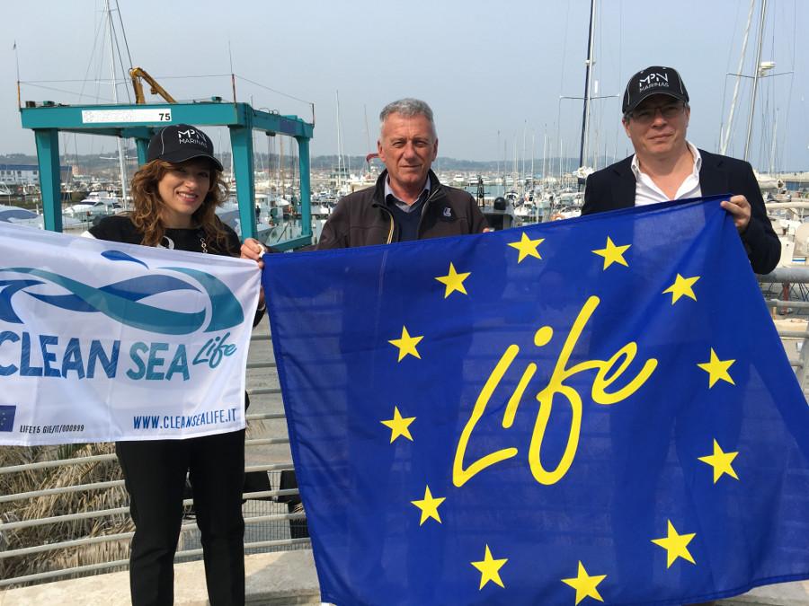 Clean Sea Life a Marina dei Cesari