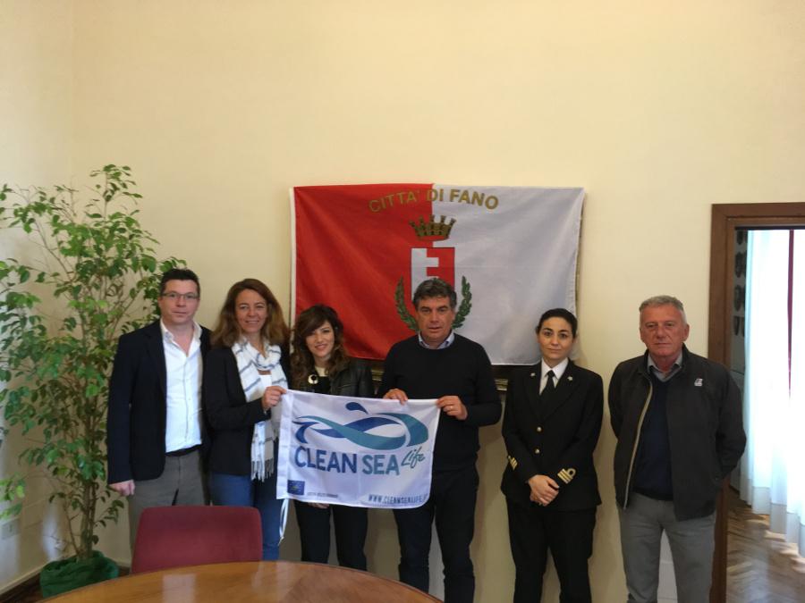 Clean Sea Life con il sindaco di Fano Massimo Seri