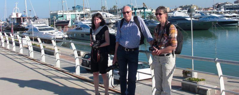 In visita a Marina dei Cesari i giornalisti delle principali testate nautiche tedesche