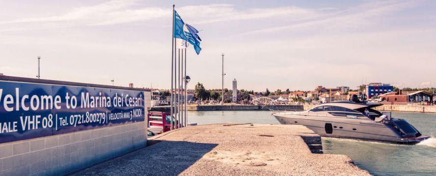 Assegnata la Bandiera Blu degli approdi a Marina dei Cesari