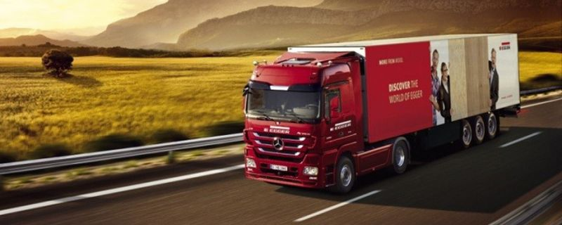 A Marina dei Cesari arriva l'Egger Truck