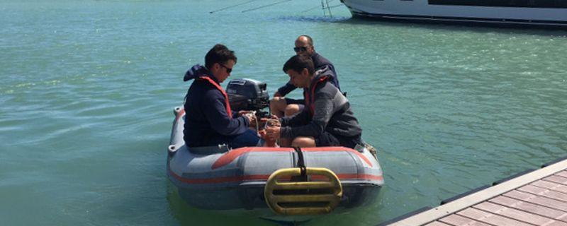 Stage a Marina dei Cesari con l'Istituto Archimede